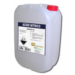 ACIDO NITRICO GARRAFA 30 Kg